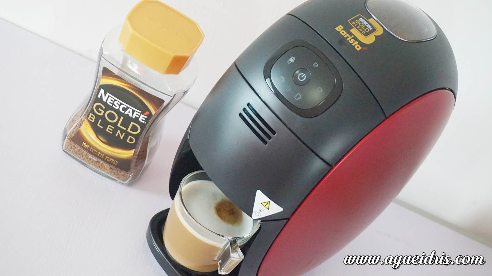 Nescafe Gold Barista Coffee Machine cara guna harga (40).JPG