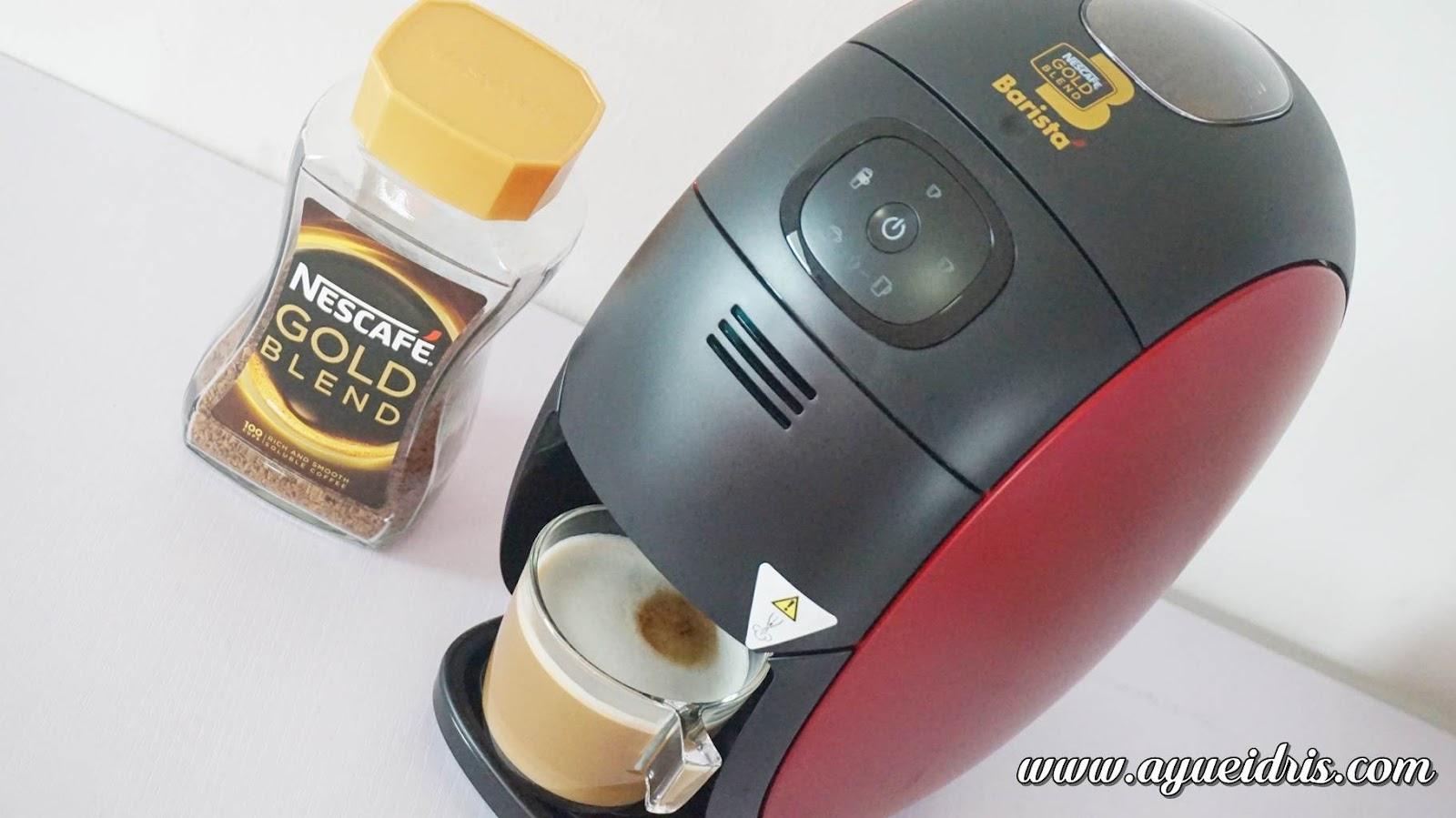 Nescafe Gold Barista Coffee Machine cara guna harga (40).JPG