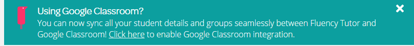 Link to sync with Classroom