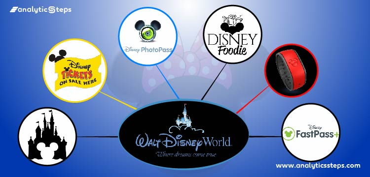 The image shows the areas where Disney World is using Behavioral Analytics