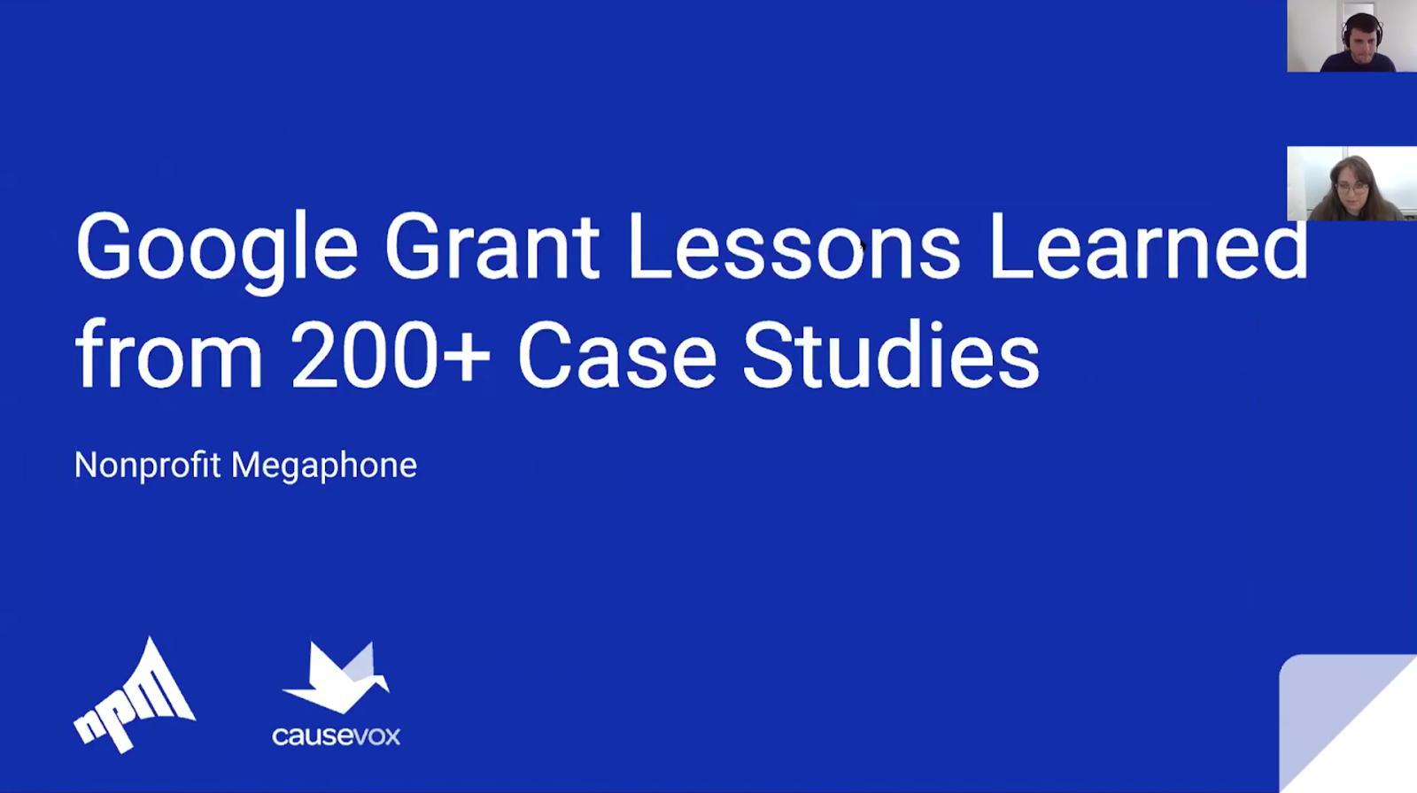 digital-fundraising-summit-insights-google-grant