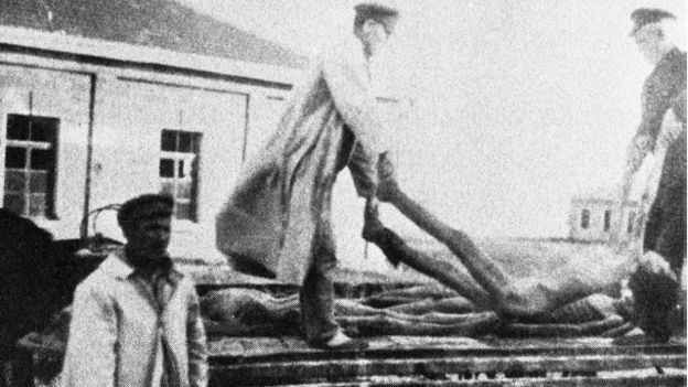 Слобожанщина, в которую в 30-е годы входила часть Донецкой области, пострадала от Голодомора больше всего