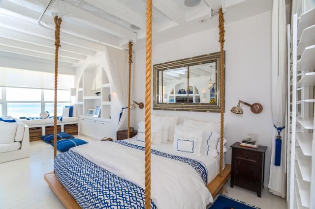 Coastal Tuscan Bedroom Ideas