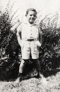 Don as a young boy