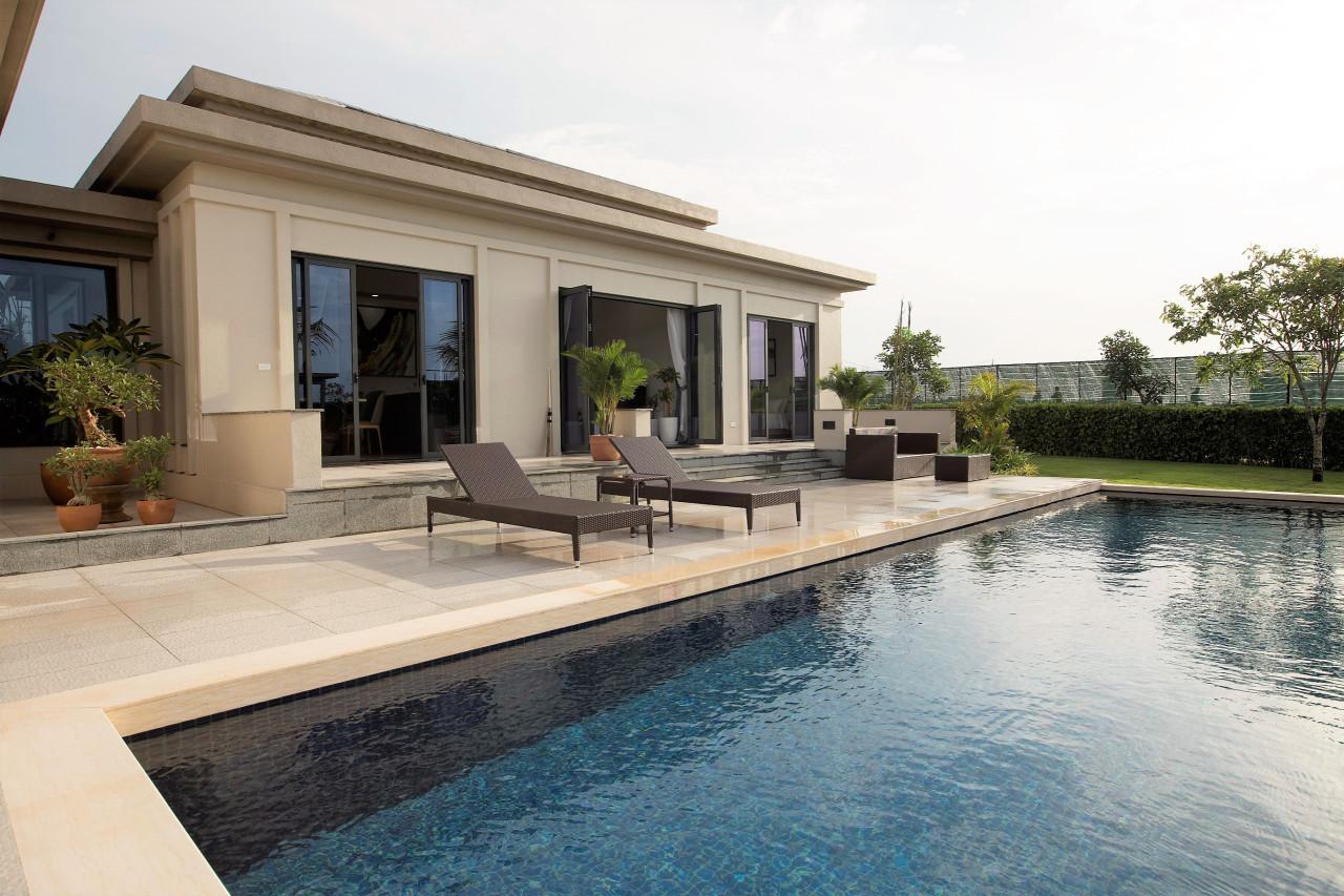 hồ bơi dự án coastar estates hồ tràm