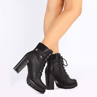 Best Black High Heel Boots For Women