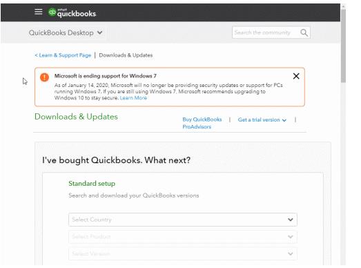 Download Quickbooks Versions