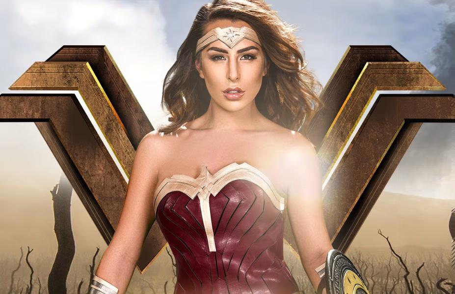 Wonder Woman Cosplay Parody