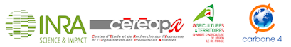 L'INRA, le CEREOPA, la Chambre d'Agriculture de Région d'Ile-de-France, et Carbone 4