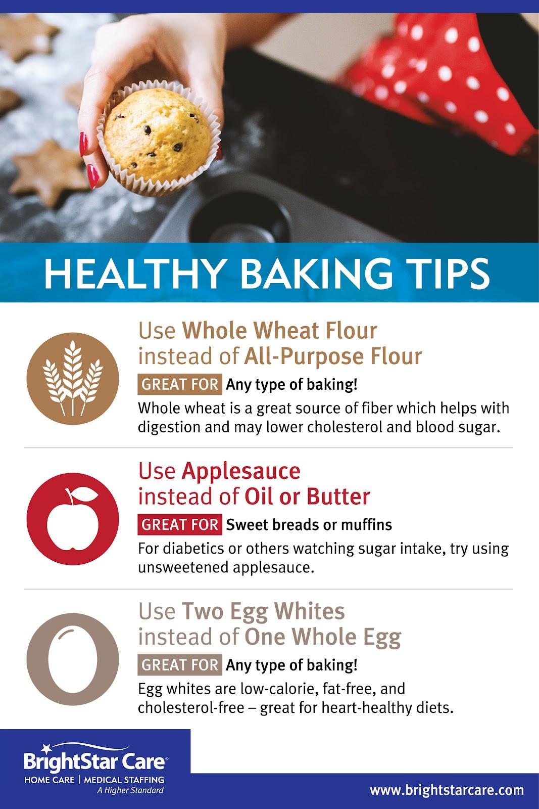 Healthy Baking Tips for Seniors