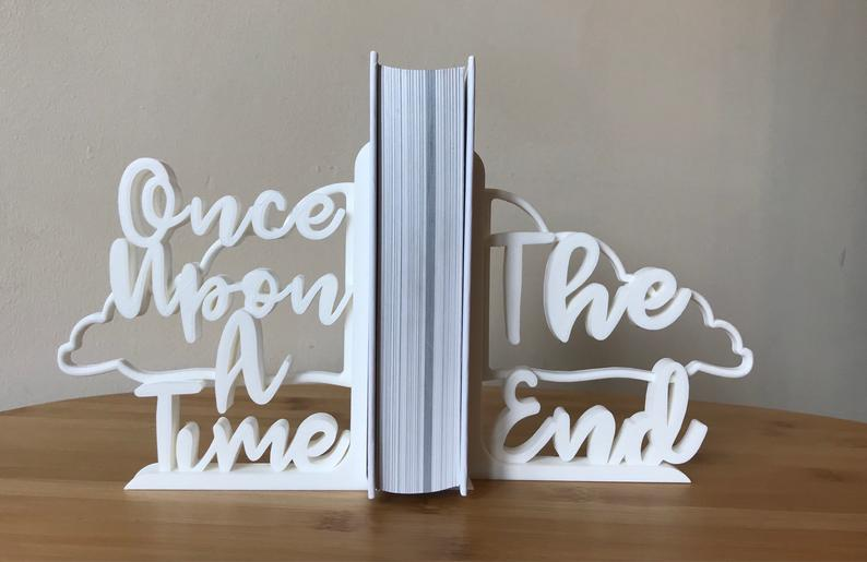 3-D bookends