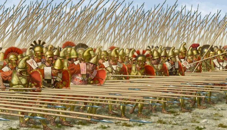 Image result for macedonian phalanx