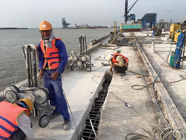 Top 2 dịch vụ khoan cắt bê tông vũng tàu tại đơn vị cung cấp
