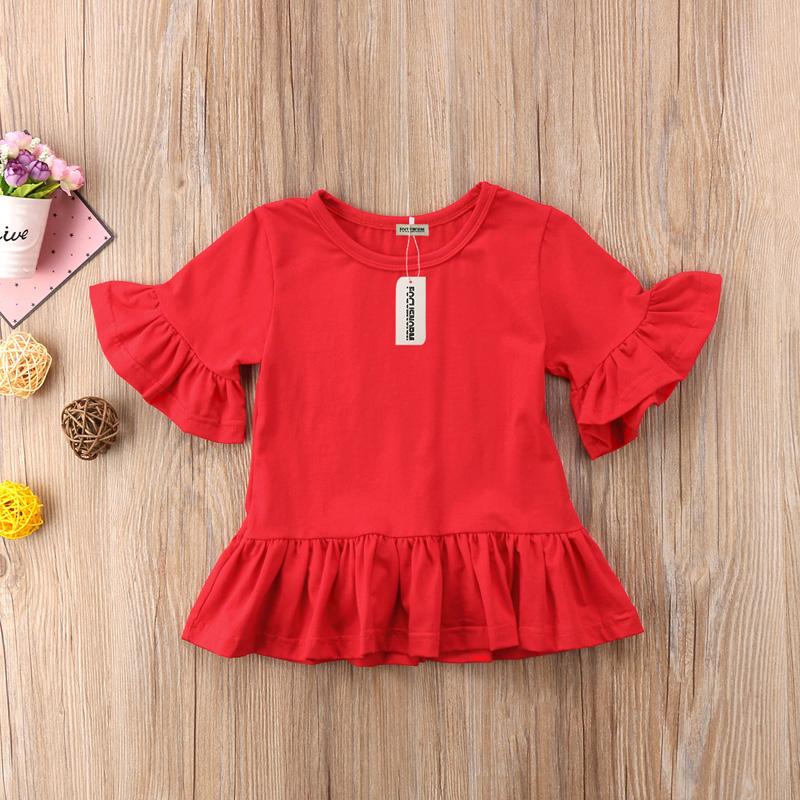 T-shirt dziecięcy czerwony