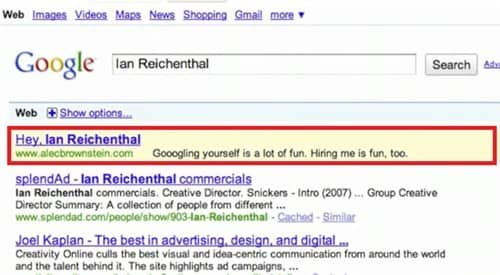 Witty Google ads
