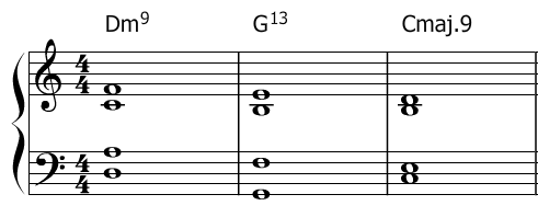 jazz chords piano
