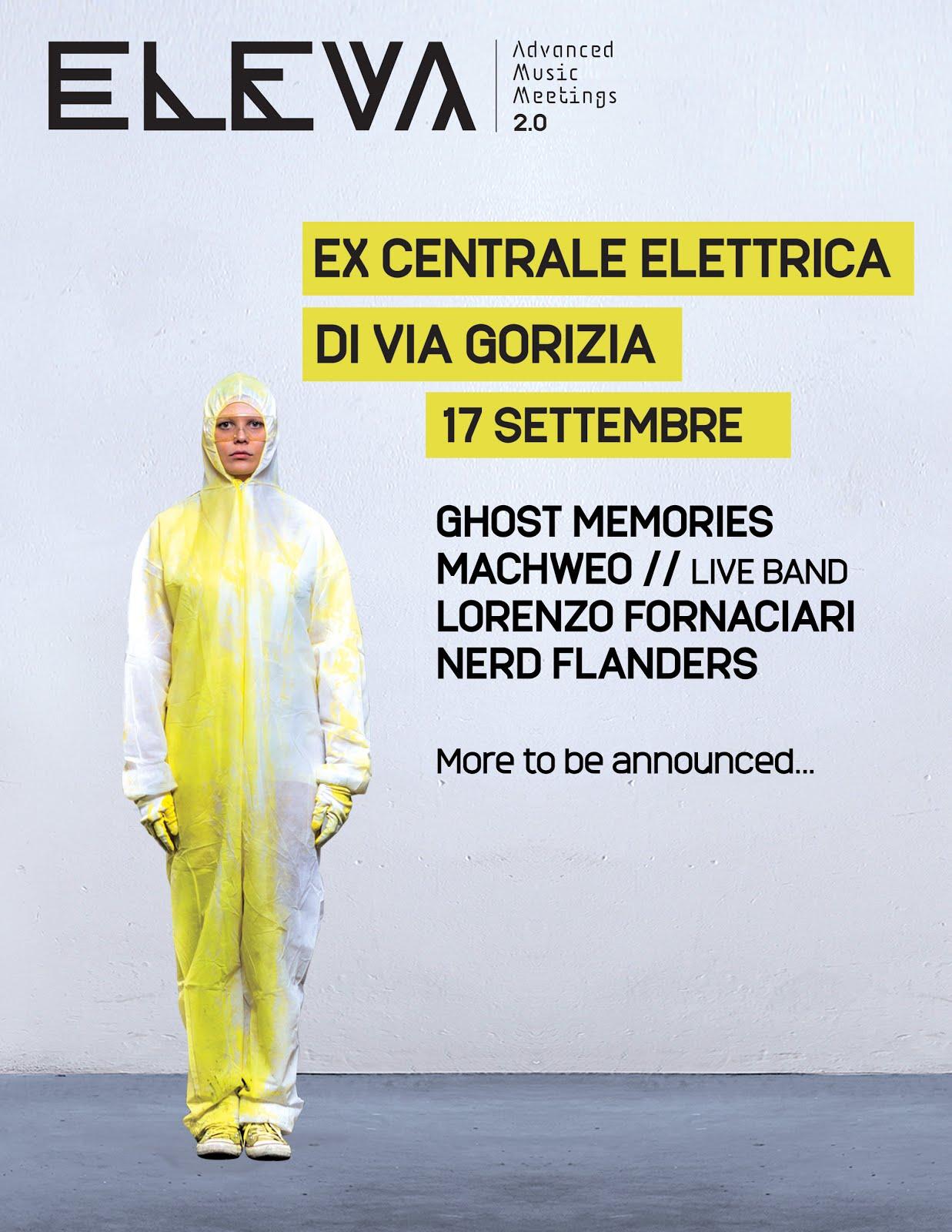 Eleva Festival Meeting Giallo 17 Settembre @Ex Centrale Elettrica