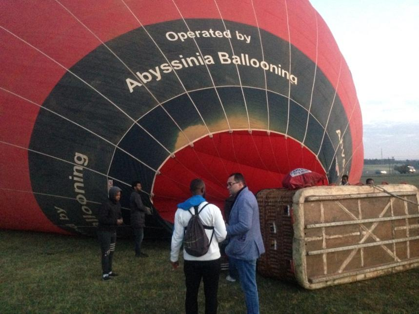 hot air balloon ride in addis ababa, abysinnia ballooning