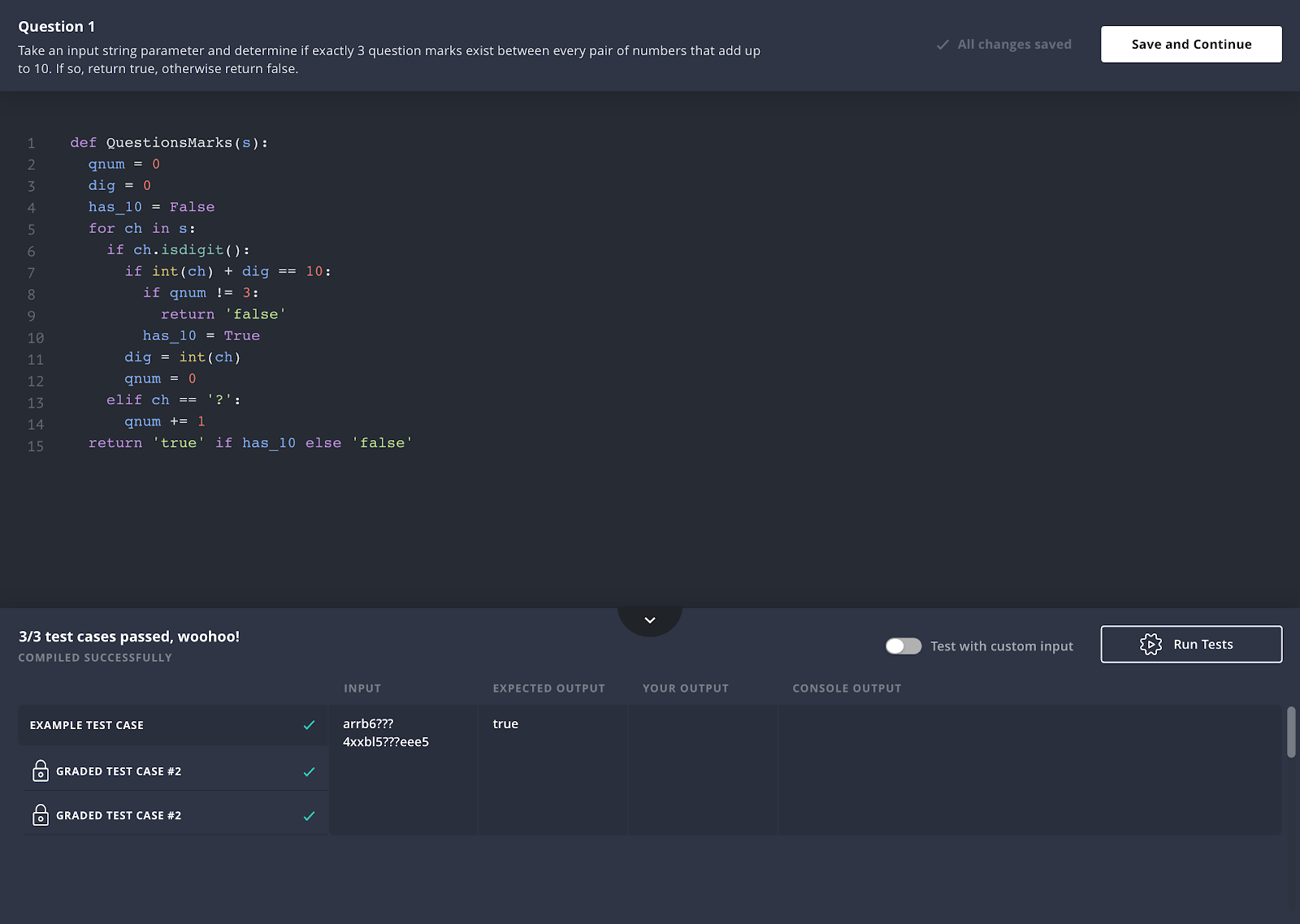 With vervoe, you can set up immersive, and niche skill tests for roles, including coding