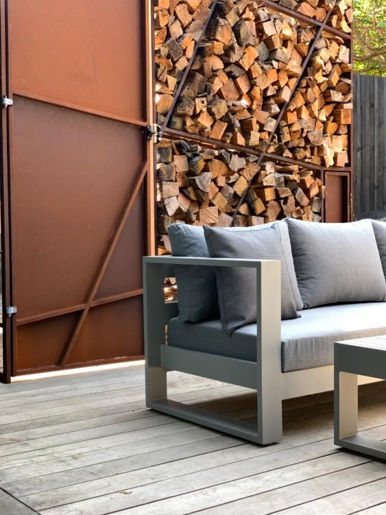 Grey Aluminium Outdoor Furniture Auckland