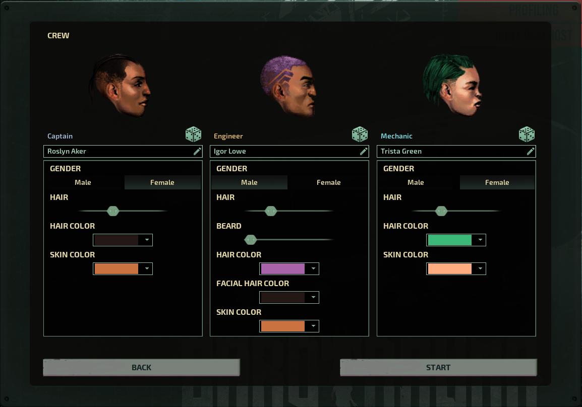 Barotrauma character customization for singleplayer