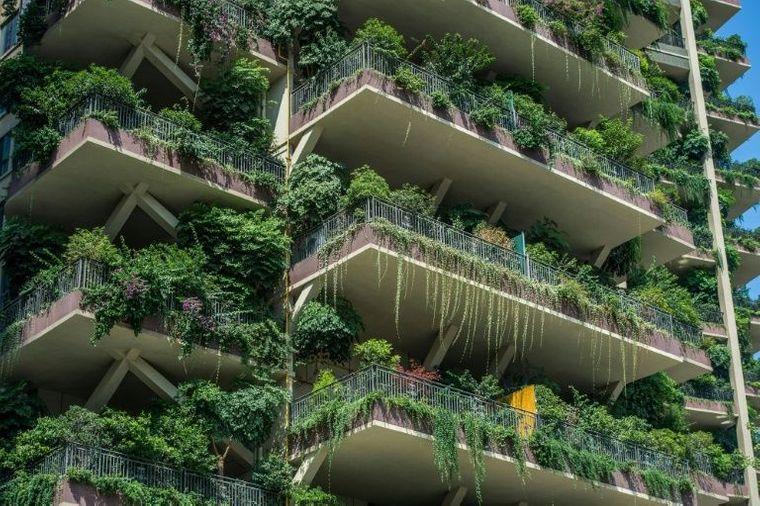 Экологичный жилой комплекс в Китае