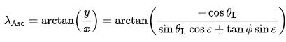 advanced formula for ascendant sign calculation