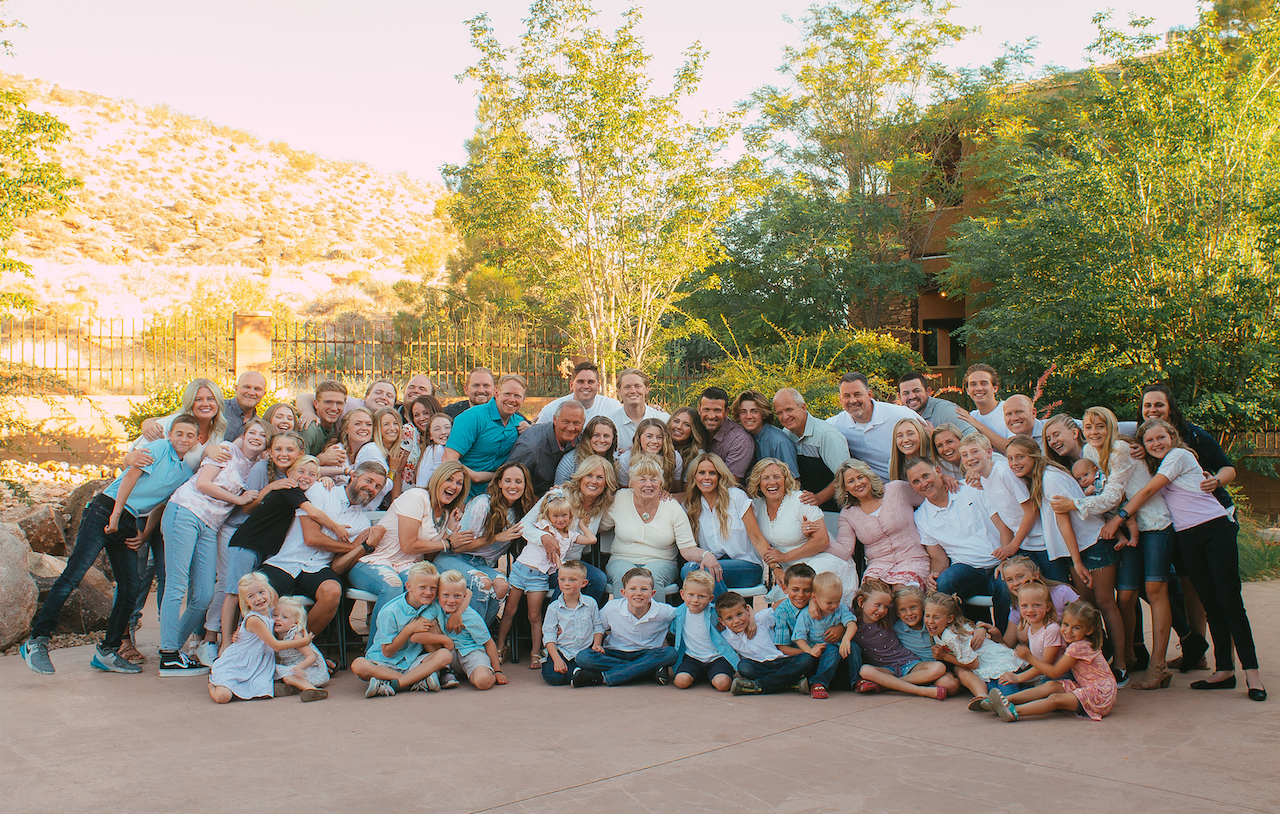 Family Reunion Pool Party at St George resort