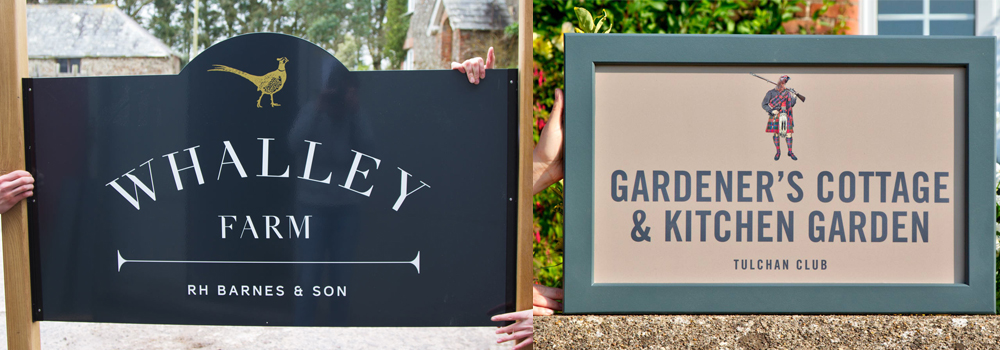 Here at The Sign Maker we can make vinyl signs to suit your business and holiday accommodation.