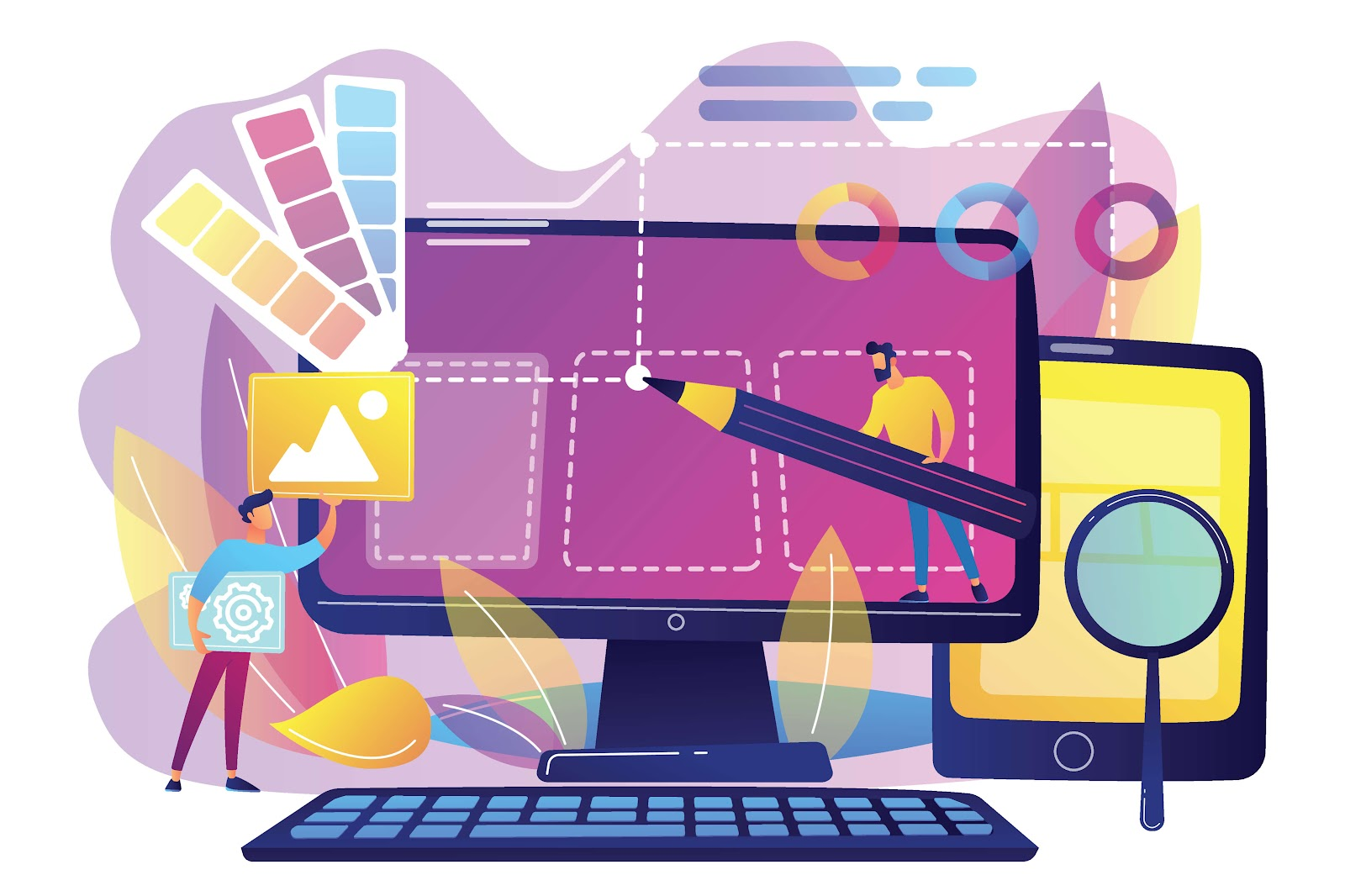 html and css coding languages being used to help kids make websites
