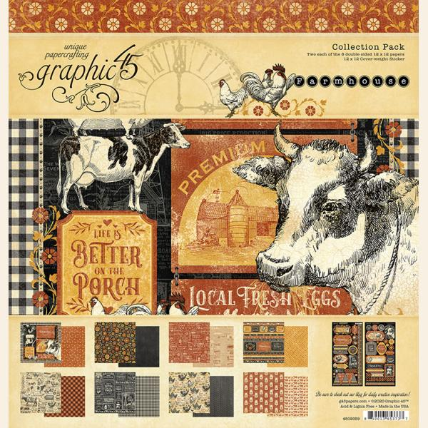 Farmhouse 12x12 Collection Pack