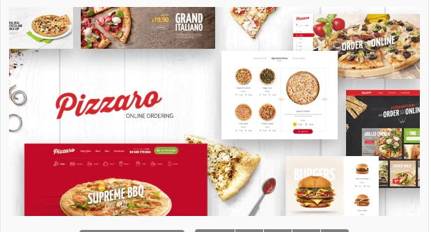 Pizzaro - Magento food theme