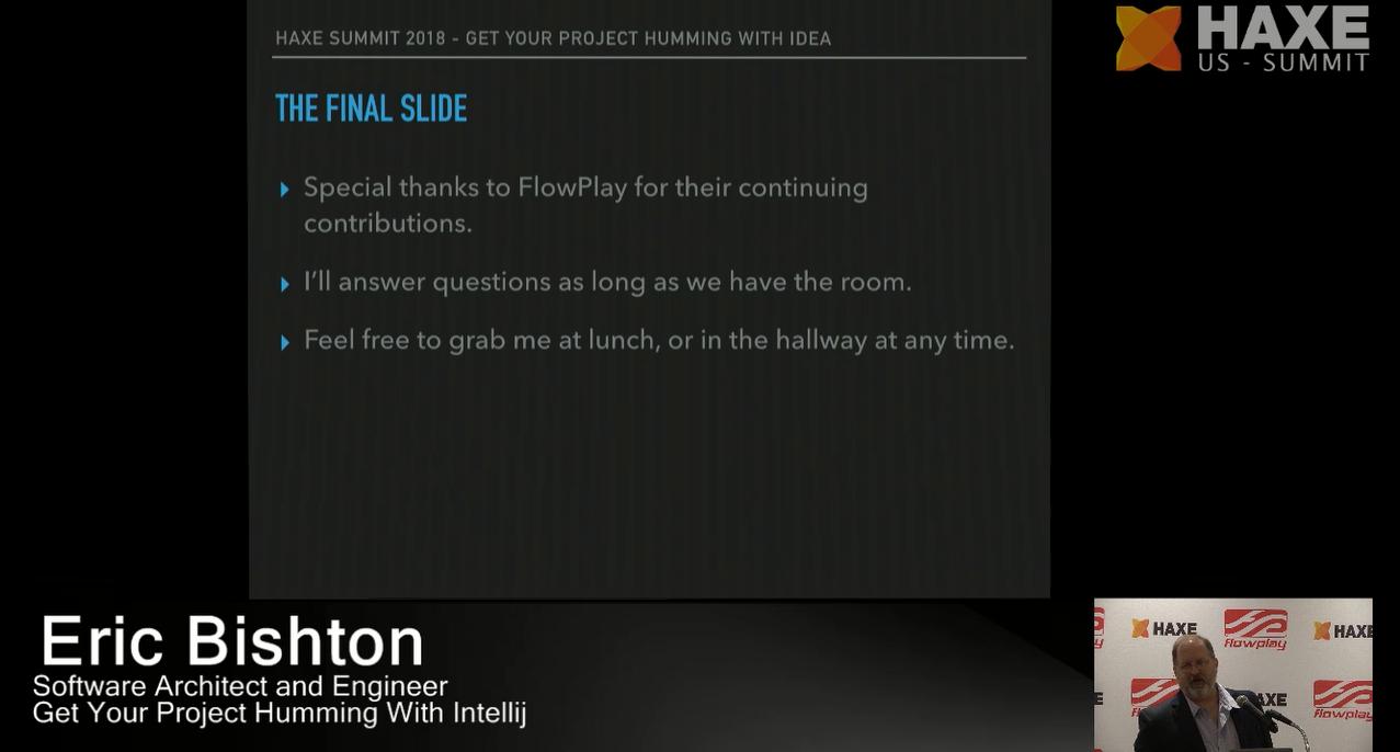 The final slide