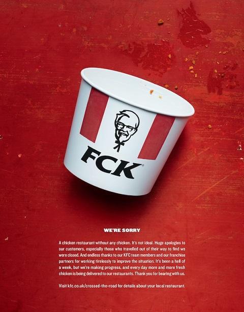 KFC copywriter