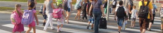 Poskrbite za varno pot v šolo in domov