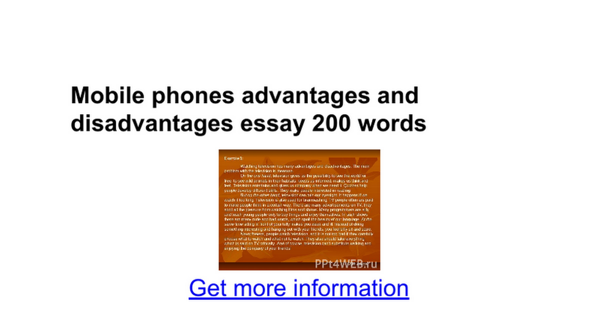 mobile phones advantages and disadvantages essay words mobile phones advantages and disadvantages essay 200 words google docs