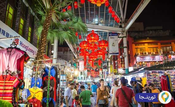 محله چینی مالزی