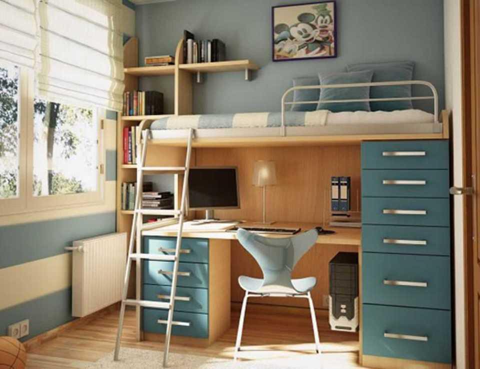Giường thông minh mang phong cách thiết kế hiện đại