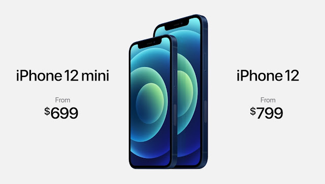 The latest version of the iPhone, the price of the iPhone 12