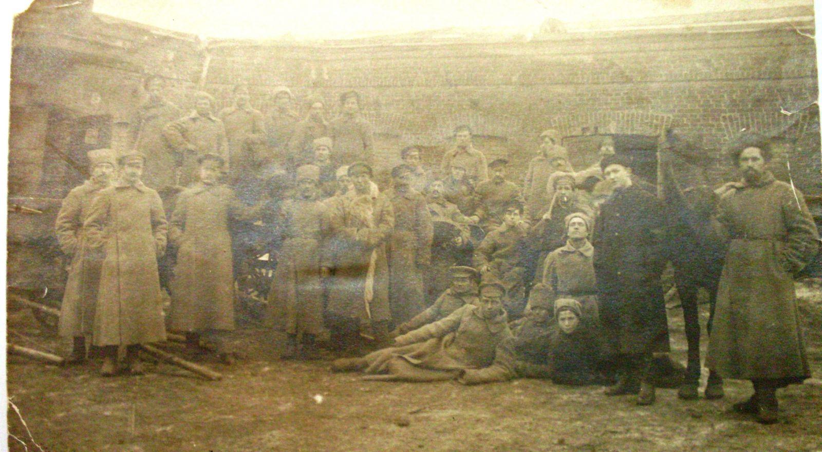 Чи не найгірший різновид «братньої допомоги російського народу» – солдати військ внутрішньої служби. Харків, кінець 1920-го.