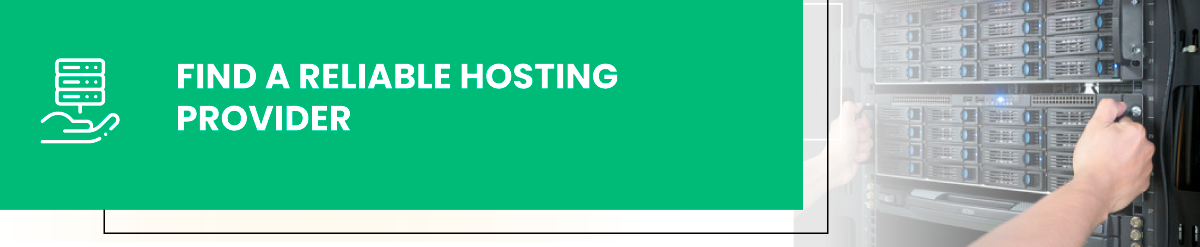 website hosting security - reliable provider