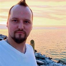 Rev. Devan Jesse Byrne, 2016 Utah Lake pier