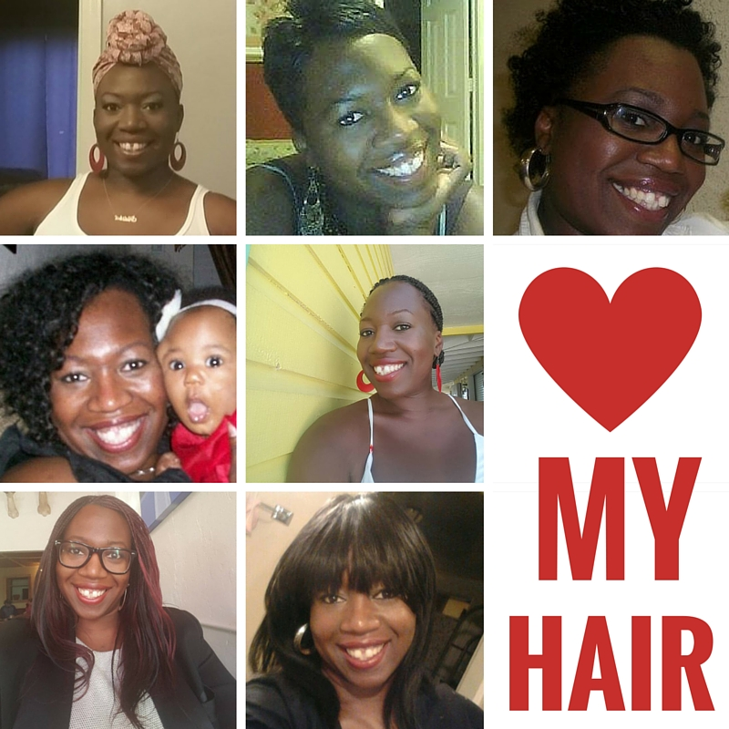 My many, many hairstyles. Not shown: the giant afro. It wouldn't fit in the frame.