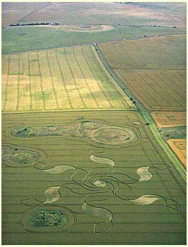 Vòng tròn kỳ lạ ở Stonehenge