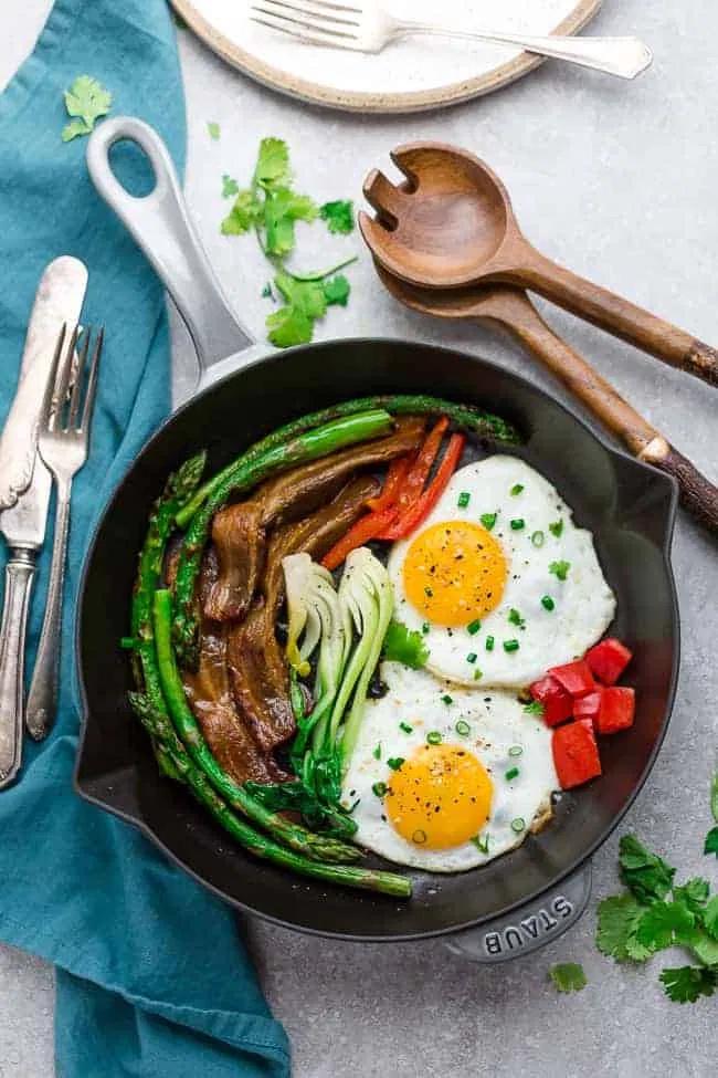 Keto Bacon and Eggs