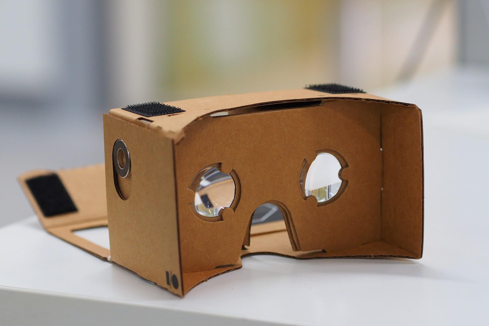 Assembled Google Cardboard VR