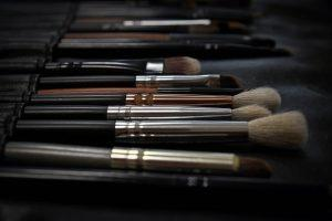 A set of brushes.