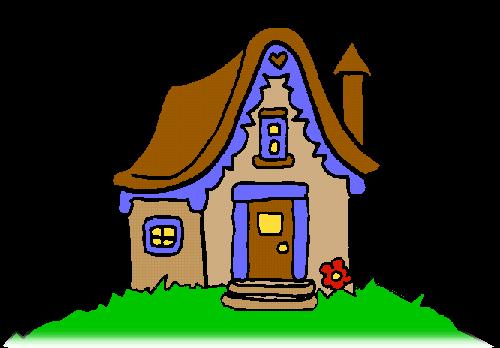 Una casa sobre un turó