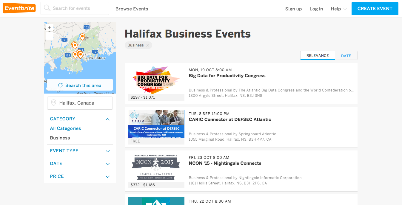 generate leads at local events