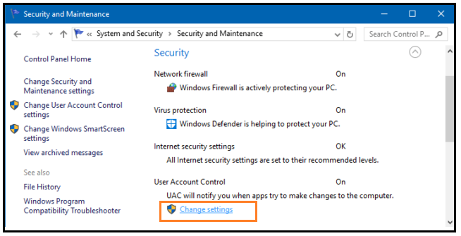 How to Disable UAC on Windows 10